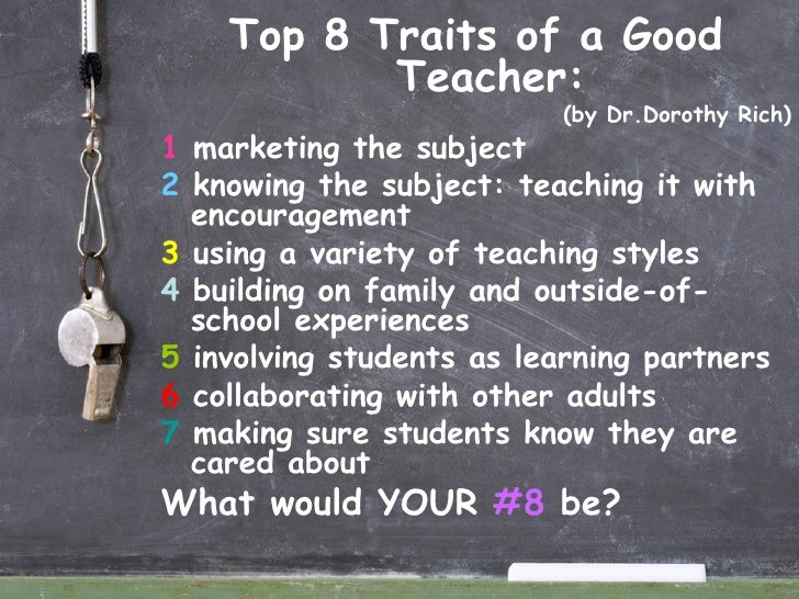 Top 10 Qualities of a Great Teacher
