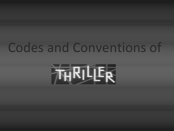 Codes and Conventions of