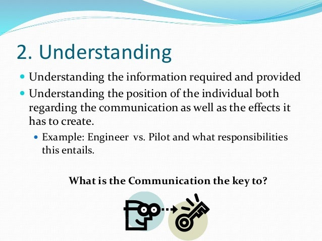 what makes a good communicator Effective communication is communication that is clearly and successfully delivered, received and understood learning the skills of effective communication can help people to resolve differences while building trust and respect being a good listener using and recognizing body language and non .