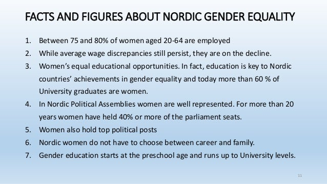 What makes nordic countries a gender equality model What is nordic