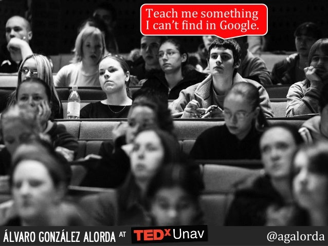 Teach	   me	   something	    I	   can't	   0ind	   in	   Google.	    ÁLVARO GONZÁLEZ ALORDA at @agalorda