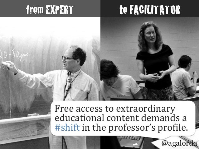 @agalorda Free  access  to  extraordinary   educational  content  demands  a   #shift  in  the  prof...