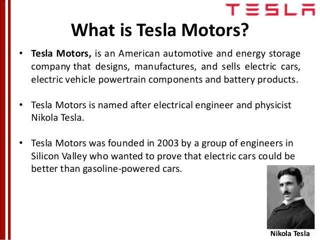 tesla motors company profile pdf