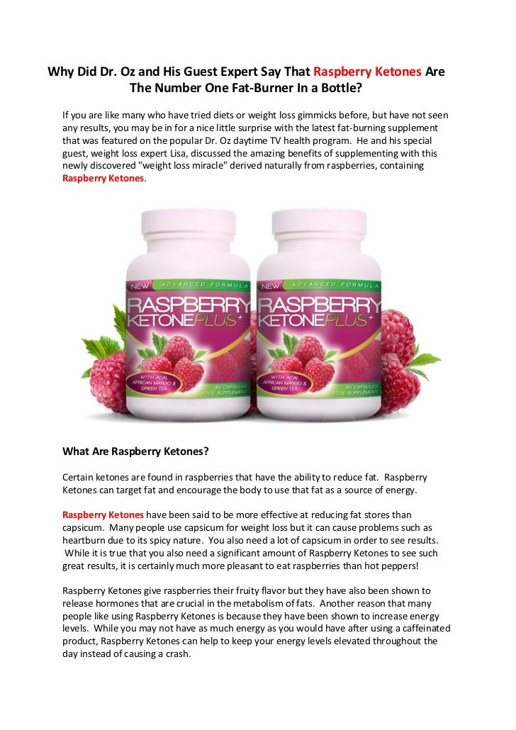 What Makes The Raspberry Ketone Diet