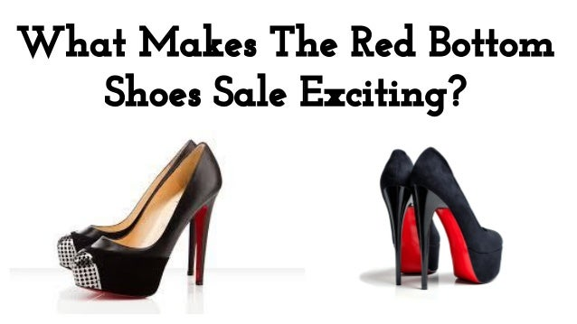 Red Bottom Shoes Sale Exciting
