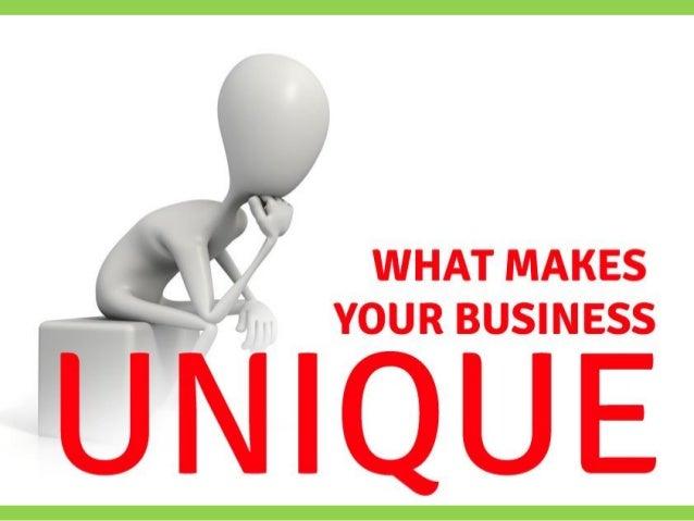 What Makes Your Business Unique