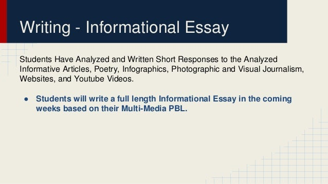 what makes your community unique power point  12 writing informational essay
