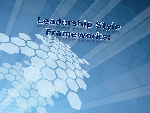 Just like everyone has an individual personality, every one has an individual leadership styles.