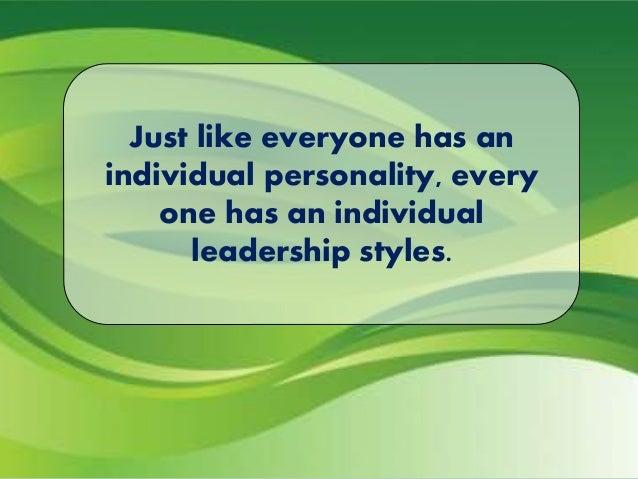 Some useful leadership styles:
