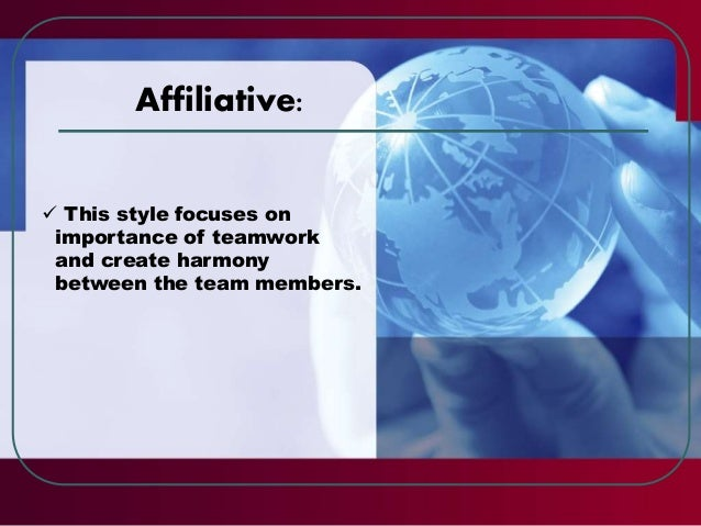  Define your objective  Share it with your group members  Identify your leadership style