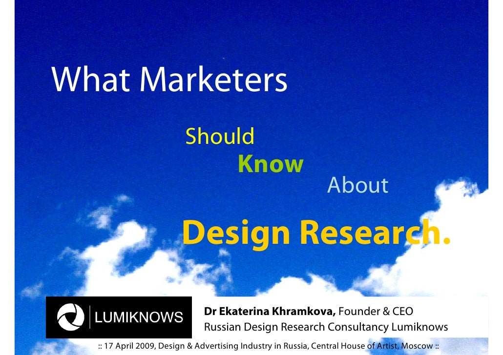 What Marketers                          Should                                         Know                               ...