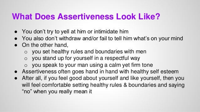 why is assertiveness attractive