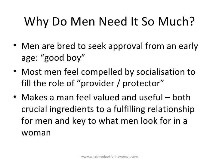 qualities men look for in a woman