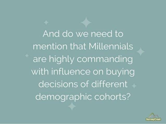 What Millennials Want? Slide 8