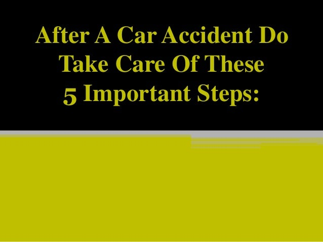 Got In A Car Accident Other Person Got An Attorney