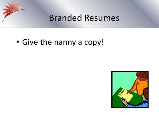 what nannies want  a survey