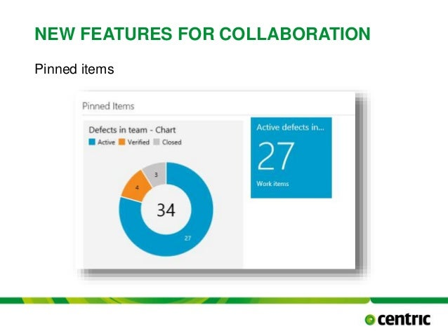NEW FEATURES FOR COLLABORATION Pinned items TITLE PRESENTATION December 17, 2014