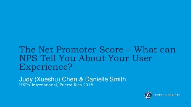 fac917651f45 1 The Net Promoter Score – What can NPS Tell You About Your User Experience