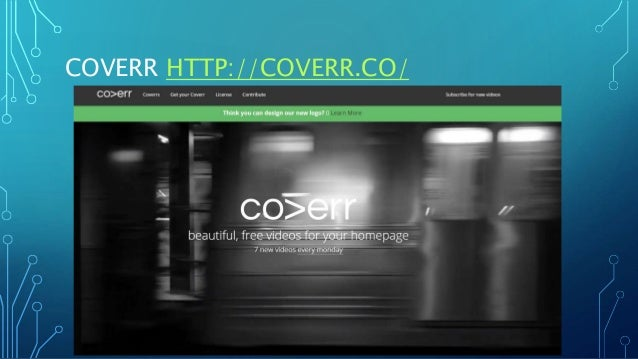 COVERR HTTP://COVERR.CO/