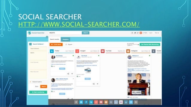 SOCIAL SEARCHER HTTP://WWW.SOCIAL-SEARCHER.COM/