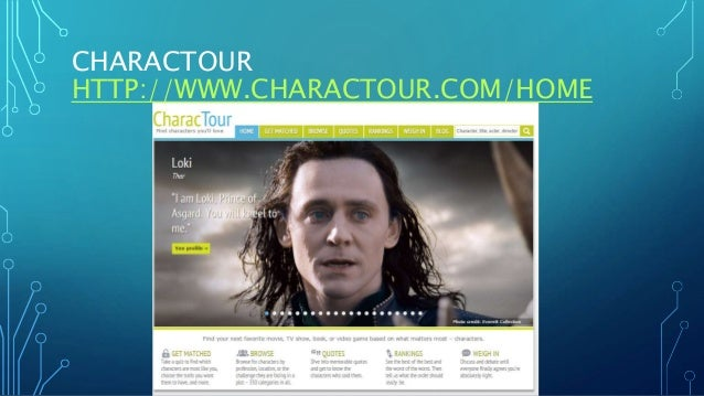 CHARACTOUR HTTP://WWW.CHARACTOUR.COM/HOME