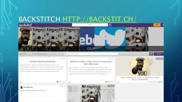 BACKSTITCH HTTP://BACKSTIT.CH/