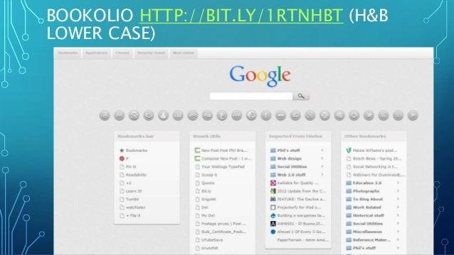 BOOKOLIO HTTP://BIT.LY/1RTNHBT (H&B LOWER CASE)