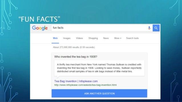 """""""FUN FACTS"""""""