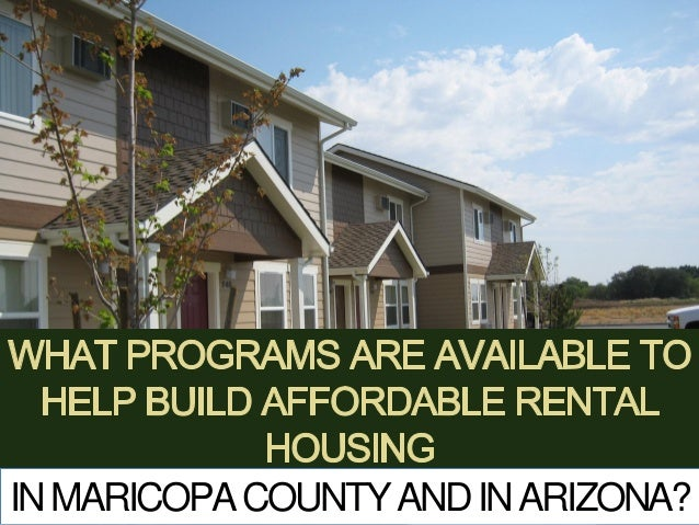 What Programs Are Available To Help Build Affordable