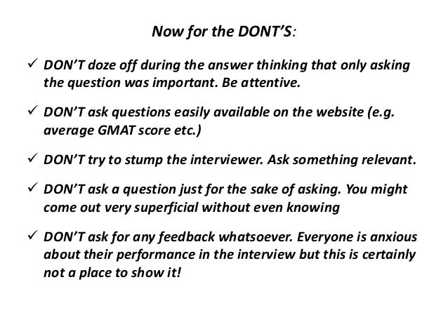 things to ask in an interview