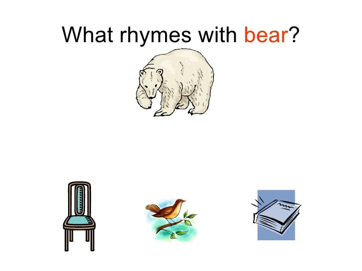 how to teach rhymes with actions