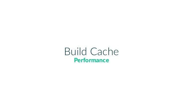 Build Cache Performance