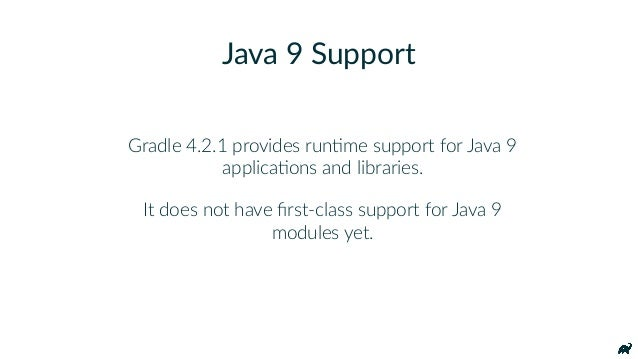 "Using Java 9 modules with Gradle ext.moduleName = ""org.gradle.actors"" compileJava { inputs.property(""moduleName"", moduleNa..."