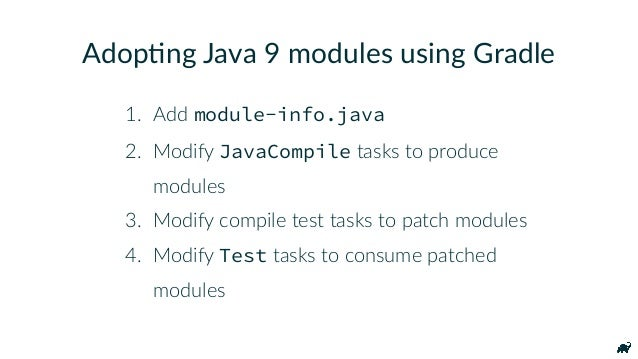 """Java 9 Support plugins { id """"org.gradle.java.experimental-jigsaw"""" version """"0.1.1"""" } DO NOT USE THIS PLUGIN IN PRODUCTION!"""