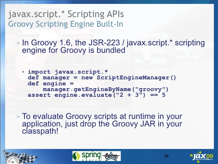 Whats New In Groovy 1 6