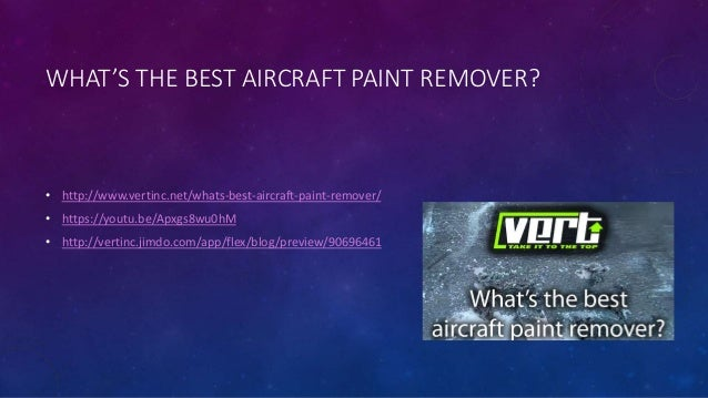 Lowes Paint App >> What's the best aircraft paint remover?