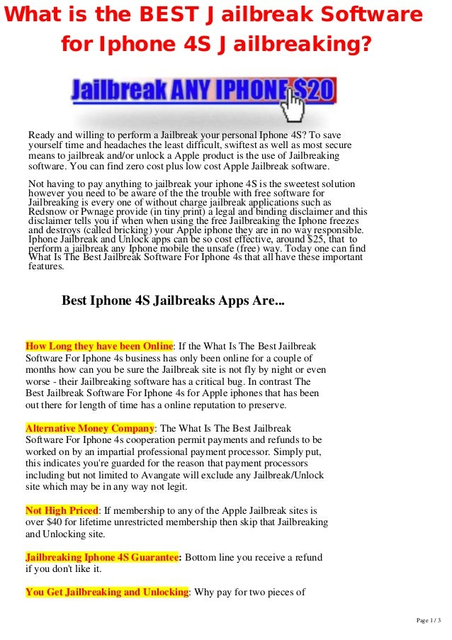 x-IPHONE4S-x Whats the-best-software-for-iphone4s-jailbreaking