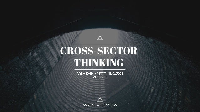 CROSS-SECTOR THINKING
