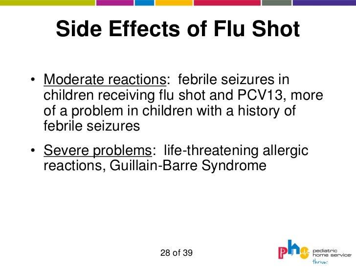Side Effects of Flu Shot• ...