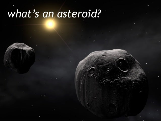 what's an asteroid?