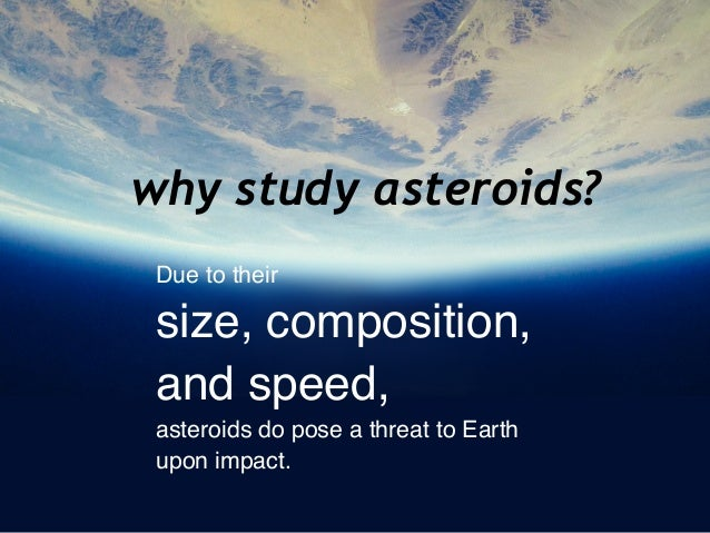Here are 6 reasons to study asteroids and comets   Space ...