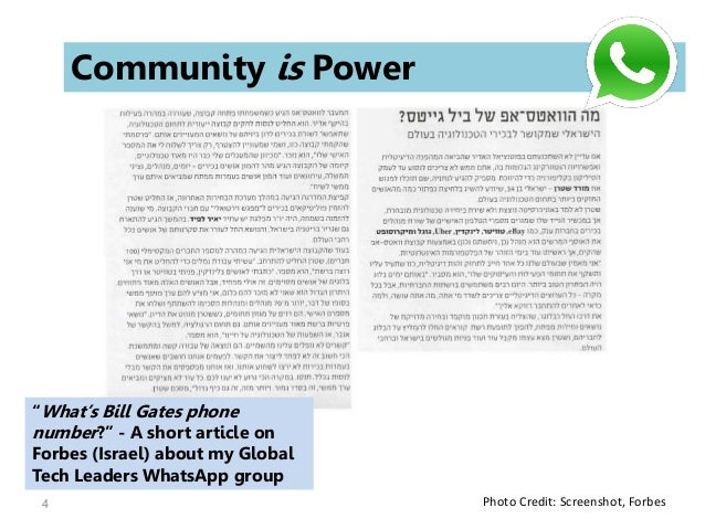 WhatsApp: Powerful Tool for Building a Community