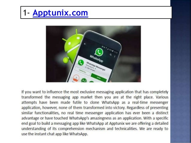 Whatsapp Clone Development Companies