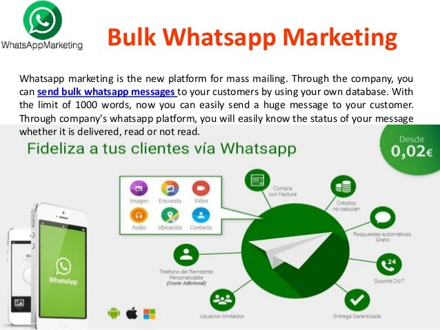 Image result for WhatsApp will square mass messages