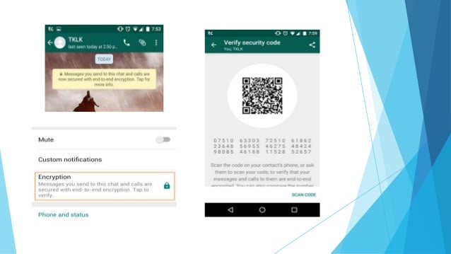 how to disable end to end encryption whatsapp