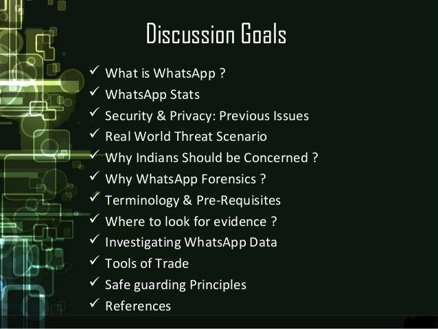 Whatsapp Forensic