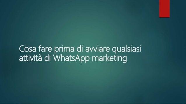 one Creare una brand persona per WhatsApp Il primo step fondamentale è quello di creare una figura che sia in grado di imp...
