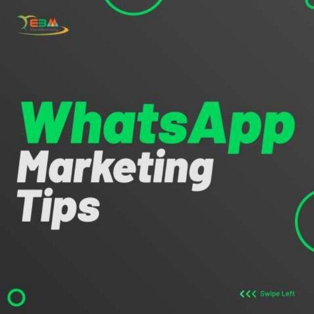 WhatsApp Marketing Tips | Ebulk Marketing