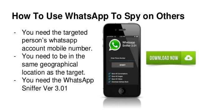 Whats app Sniffer - How To Hack Whatsapp Messages