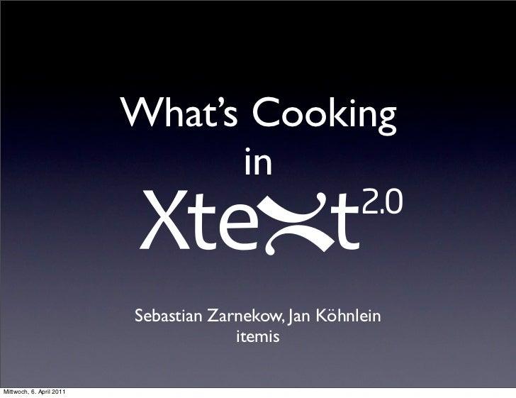 What's Cooking                                in                          Sebastian Zarnekow, Jan Köhnlein                ...